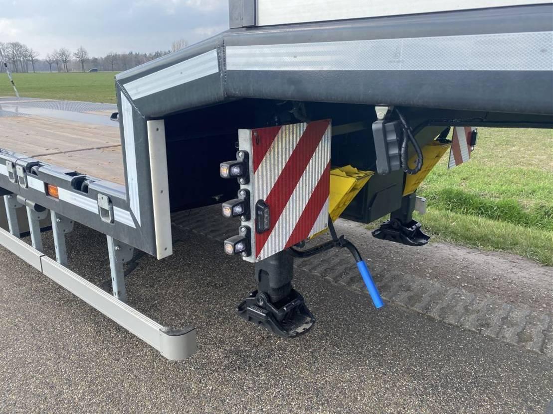 semi dieplader oplegger Vlastuin VTR |18-27 | EXTENSION | HYDROLIC RAMPS | 2021