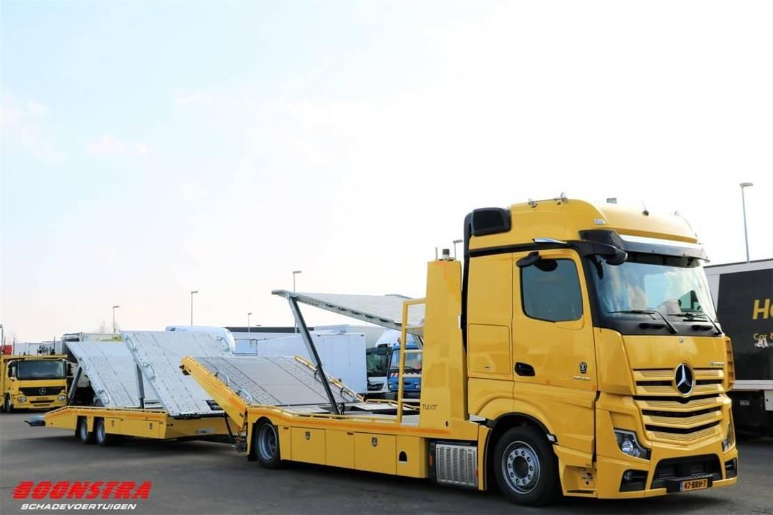 autotransporter vrachtwagen Mercedes-Benz Actros 1840 StyleLine Tijhof Leder MirrorCam NIEUW!! . 2021