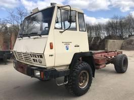 chassis cabine vrachtwagen Steyr 791 4x4 **MANUAL PUMP-AUSTRIAN TRUCK** 1982