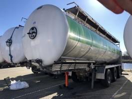 tankoplegger Magyar Magyar Tanker Semi-trailer 34000 ltr   Inox   Stainless   Foodstuff-Lebensmittel 2009