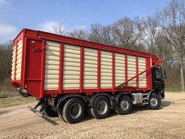 chassis cabine vrachtwagen Ginaf X 4446 TS 430 (renovated)   Harvest   KAWECO Silage system 2015   8x8 2006