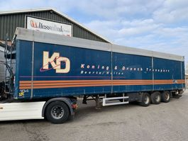 walking floor oplegger Kraker CF-300 93m3 Cargo Floor 10MM 4 year old, BPW 2006