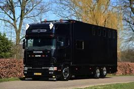 bakwagen vrachtwagen Scania 144 530 V8 CAMPER 144L 530 V8 CAMPER 2.0 2000