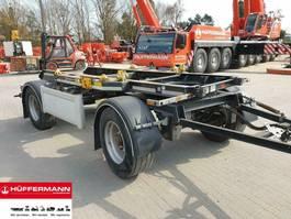 container chassis aanhanger Huffermann 2-achs Muldenanhänger / HMA 18.45 LT // 18.12 LT 2014