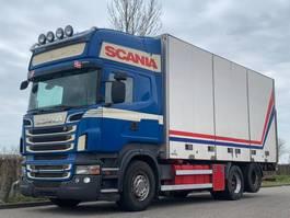 bakwagen vrachtwagen Scania Scania R560 6x2 Side doors / Retarder / Airco / Topline 2011
