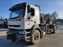 containersysteem vrachtwagen Renault Kerax 300 **grue - crane** 2001