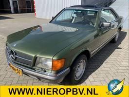 sedan auto Mercedes-Benz 380 SEC 126type automaat airco 101000km 1982