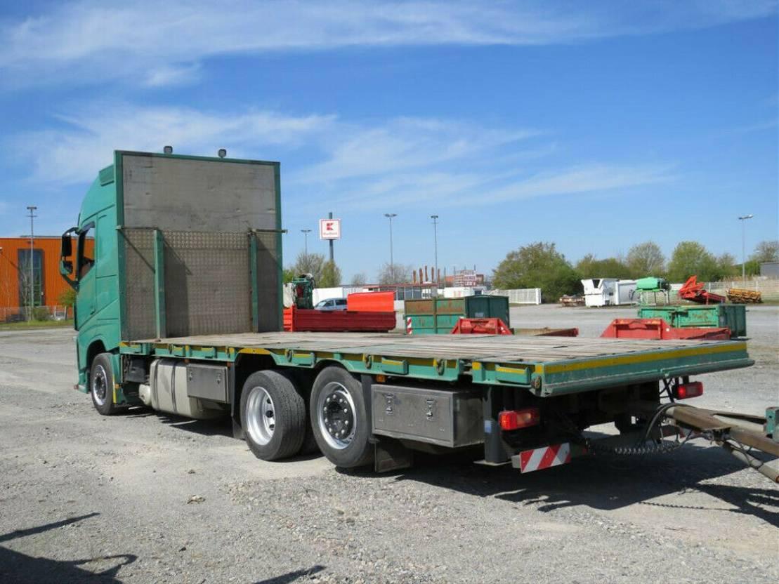 autotransporter vrachtwagen Volvo FH 460 FH Pritsche Maschinentransporter Twistloo 2014