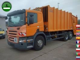 vuilkar camion Scania P280 B6X2 Haller M22X2C Schüttung Terberg TCA-DE 2009