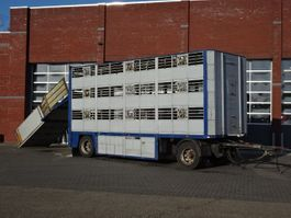 vee aanhanger CUPPERS LVA 10 10 ZD 3Stock Livestock trailer 1994