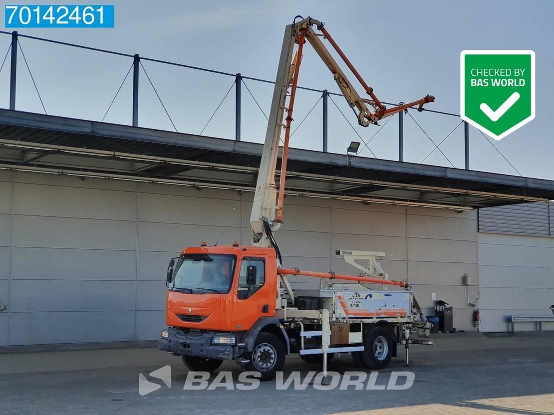 betonpomp vrachtwagen Renault Midlum 210 4X2 Manual dCi Steelsuspension Euro 3 Pumpe 2005