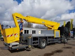 autohoogwerker vrachtwagen DAF AE65NC met 26m. telescoophoogwerker 1995
