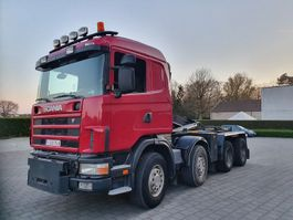 containersysteem vrachtwagen Scania R 480 8X4 CONTAINER SYSTEEM- CONTAINER SISTEEM- CONTAINER HAAKSYSTEEM- SYSTEME CONTENEUR 2005