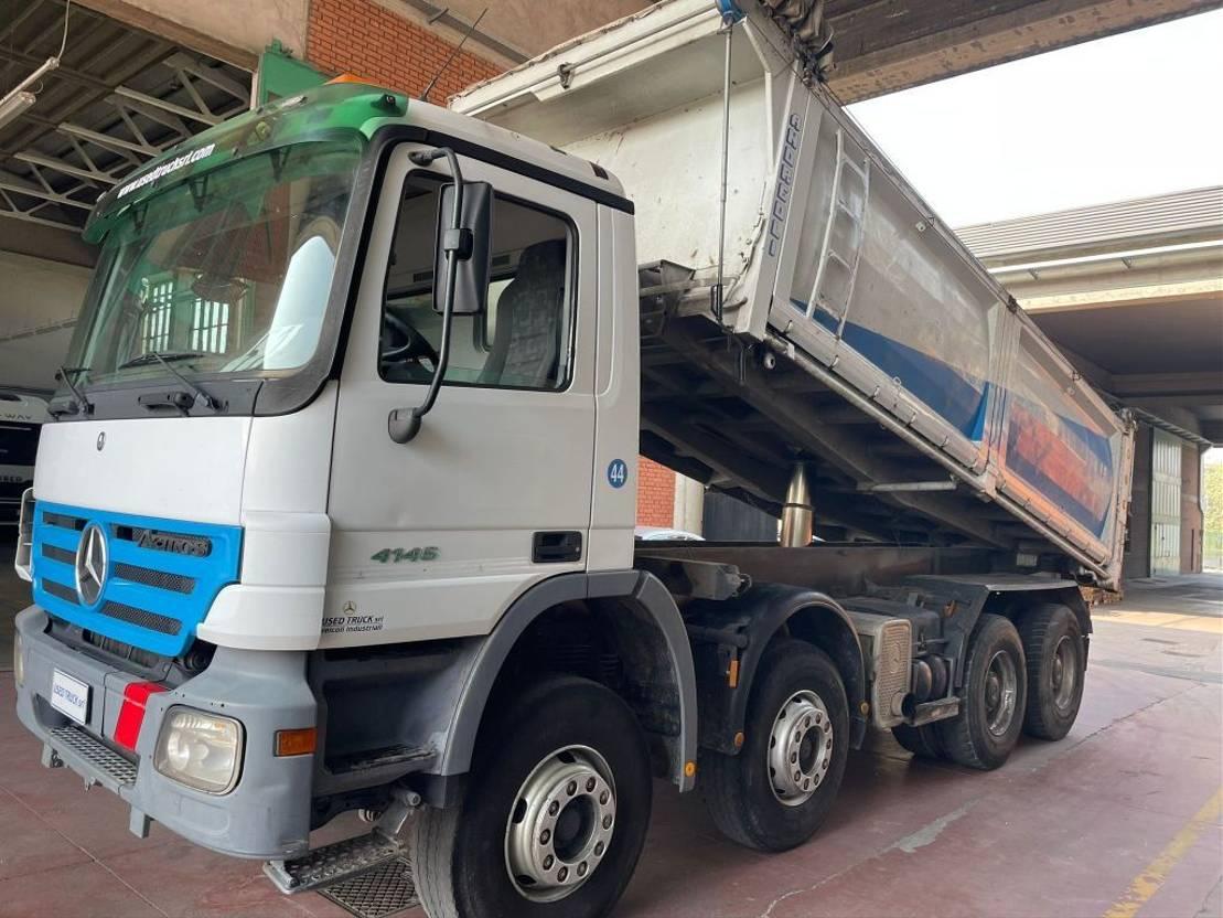 driezijdige kipper vrachtwagen Mercedes-Benz Actros 4146
