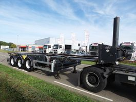 container chassis oplegger Feldbinder TE HUUR 30 FT ROTORY CHASSIS