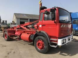 containersysteem vrachtwagen Renault G230 **48.000KM-ETAT NOUVEAU-LAMES** 1991