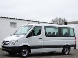 minivan - personenbus Mercedes-Benz Sprinter 316 CNG/NGT Lang 9 Sitze Klima Euro 4 2009