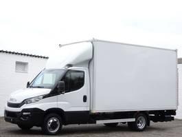 gesloten bestelwagen Iveco Daily 35C14 Koffer Maxi 240h Lbw Klima Lkw 3,5t Euro 6 2017