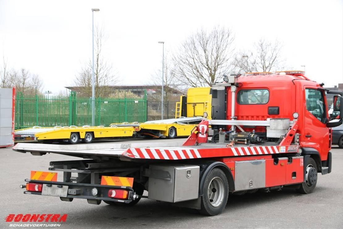 takelwagen-bergingswagen-vrachtwagen Renault D 180.75 4X2 Aut. Omars 2.7t Schiebeplateau . 2016