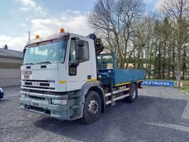 open laadbak vrachtwagen Iveco Eurotech 190 iveco eurotech cursor 190E27