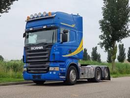 standaard trekker Scania R500 V8 R500 6x2 Analog tacho, Handgeschakeld 2005