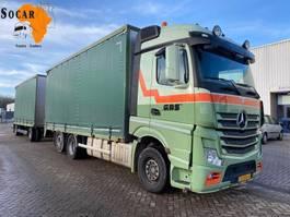 bakwagen vrachtwagen Mercedes-Benz Actros 2642 6X2 Combination (+ GS MEPPEL HANGER) TRANSPORT FOR -> : Pluimvee / Geflügel / Chicken 2015
