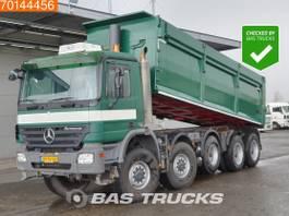 kipper vrachtwagen > 7.5 t Mercedes-Benz Actros 5044 10X8 NL-Truck Big-Axle Lift+Lenkachse Euro 5 2008