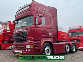 standaard trekker Scania R520-V8 R520 6x2/4 twensteer special interior 2015