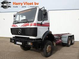 chassis cabine vrachtwagen Mercedes-Benz 2635 6x6 1991