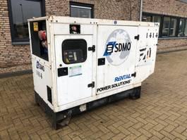 generator SDMO R66 John Deere Leroy Somer 66 kVA Rental Supersilent generatorset 2003