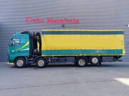 huifzeil vrachtwagen Volvo FH 520 8x2 Palfinger PK20002 5 x Hydr. 2 x Mech. tailgate Euro 5! 2006
