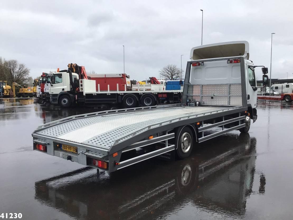 autotransporter vrachtwagen DAF 45 LF 160 Nieuw en ongebruikt oprijplateau 2010