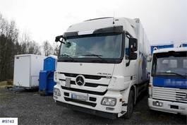 bakwagen vrachtwagen Mercedes-Benz 1832 Box truck with side opening 2011