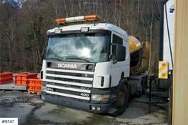 betonmixer vrachtwagen Scania 124,400 6x2 / 2 Concrete truck with Intermix 7m3 d 2000