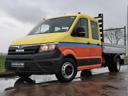 gesloten bestelwagen MAN TGE 5.180 ac dc 3500 kg trekha 2018