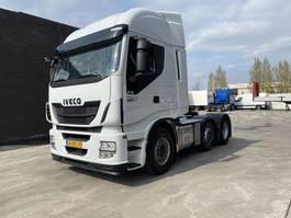 standaard trekker Iveco STALIS 460 6X2 - HI-WAY LIFT+LENKACHSE - NAVI - EURO 6 - HOLLAND TRUCK 2015
