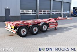 container chassis oplegger Broshuis 3 UCC-39/45 EU   2x20-30-40-45ft HC * DISC BRAKES * APK 01-2022 2005