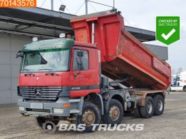 kipper vrachtwagen > 7.5 t Mercedes-Benz Actros 4146 8X8 Steelsuspension 3-pedals Big-Axle Euro 3 2002