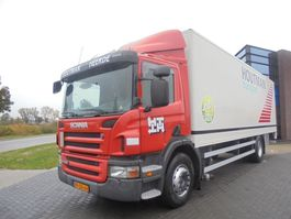 bakwagen vrachtwagen Scania P230 Box / Opticruise / Euro 5 / Heated Box / NL Truck / Loading Platform 2008