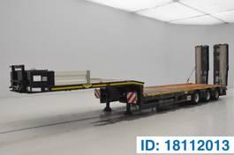 dieplader oplegger Broshuis Low bed trailer* 2015