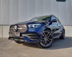 suv wagen Mercedes-Benz GLE 300d Cavansietblauw 2020