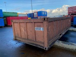 open top zeecontainer Vernooy Gebruikte Open Top 20ft Zeecontainer