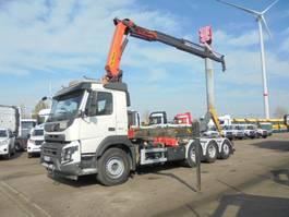 containersysteem vrachtwagen Volvo FMX 450 8X4 TRIPLE 2014