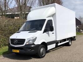 gesloten bestelwagen Mercedes-Benz Sprinter 513 Bakwagen + laadklep Euro 5 | Trekhaak 3500kg 2014