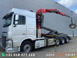 kraanwagen DAF XF 460 SC / 8X2 / Palfinger S260Z96 / 25T Hook / Manual / TUV: 7-2021 / NL Truck 2015