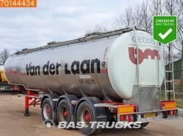 tankoplegger Burg BPO 12-24 Z 3 axles Chemie Tank 31.000 Ltr / 3 Comp / ADR 1984