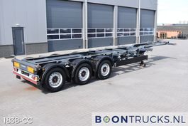 container chassis oplegger Kögel PORT 40 SIMPLEX 20 | 2x20-30-40ft HC * DISC BRAKES * LIFT AXLE 2017