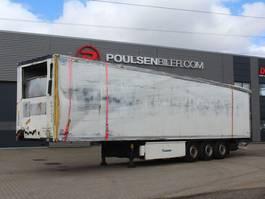 koel-vries oplegger Krone 3-axle DAMAGED fridge trailer 1-temp 2017
