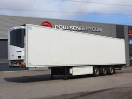 koel-vries oplegger Krone 3-axle DAMAGED fridge trailer 2-temp 2015