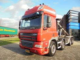 containersysteem vrachtwagen DAF CF85.460 SSC / Tipper / Chassis / 8x4 / Full Steel / Manual / NL Truck 2008